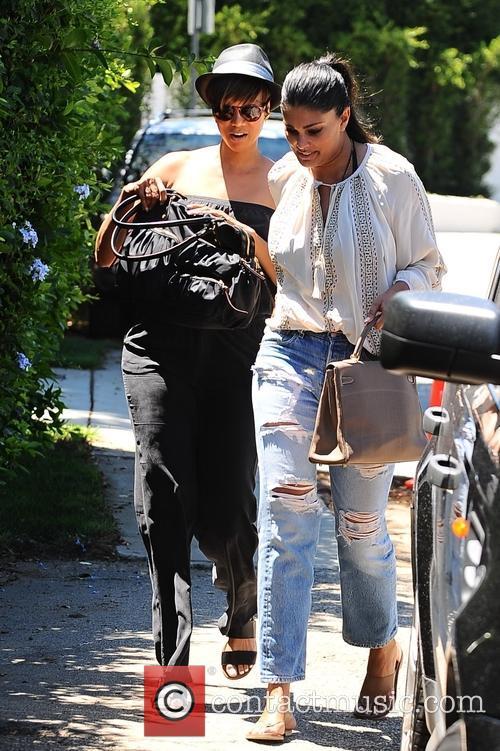 Tyra Banks and Rachel Roy 2