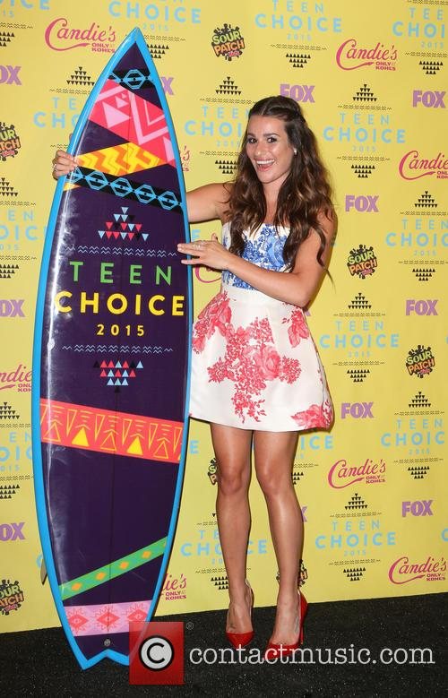 Teen Choice Awards and Lea Michelle 2