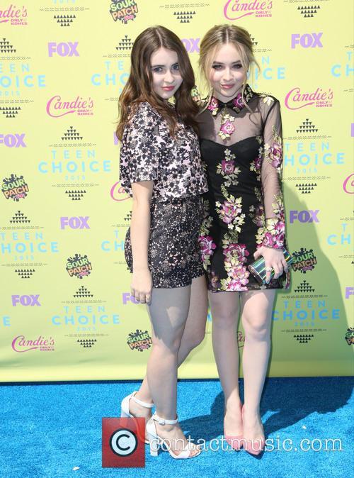 Sarah Carpenter and Sabrina Carpenter 2