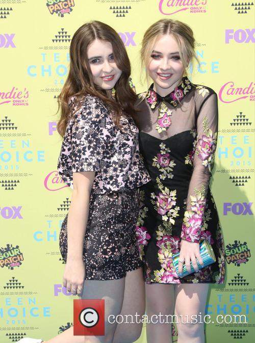 Sarah Carpenter and Sabrina Carpenter 1