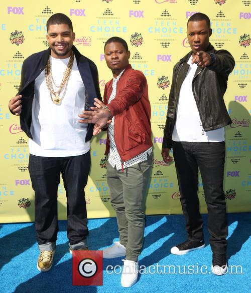 Shea Jackson, Jason Mitchell, Corey Hawkins and Teen Choice Awards 2