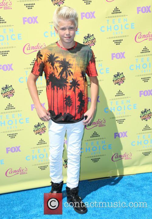 Teen Choice Awards and Carson Lueders 2