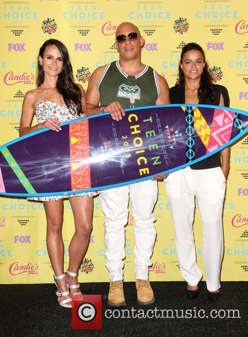 Jordana Brewster, Vin Diesel and Michelle Rodriguez 5