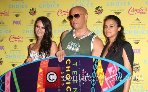 Jordana Brewster, Vin Diesel and Michelle Rodriguez 6