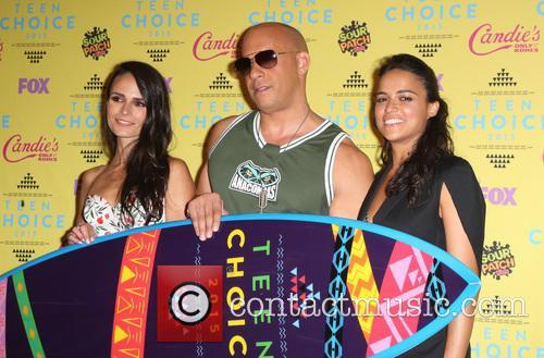 Jordana Brewster, Vin Diesel and Michelle Rodriguez 7