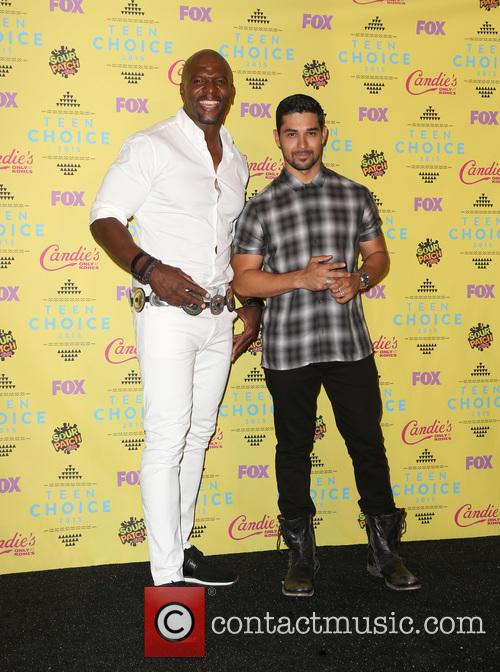 Terry Crews and Wilmer Valderrama 2