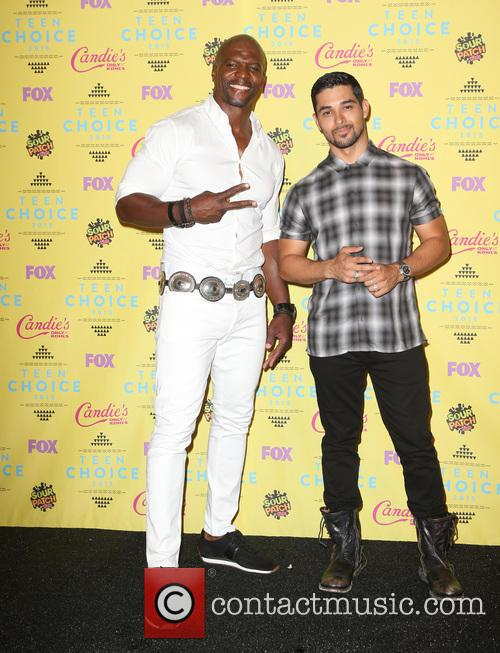 Terry Crews and Wilmer Valderrama 7