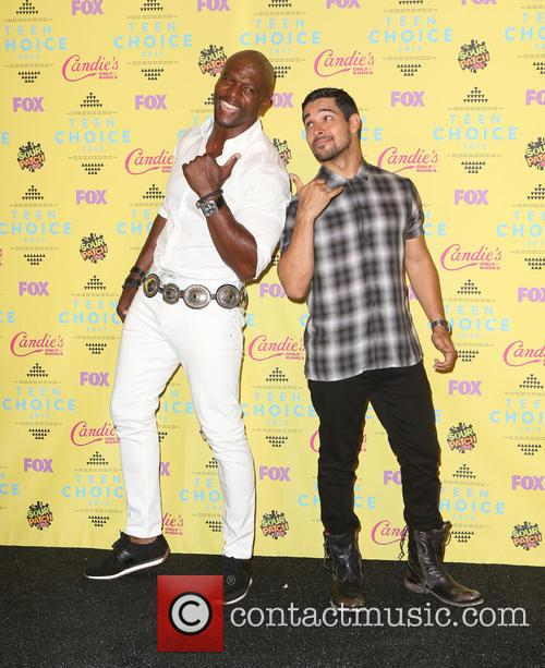Terry Crews and Wilmer Valderrama 8