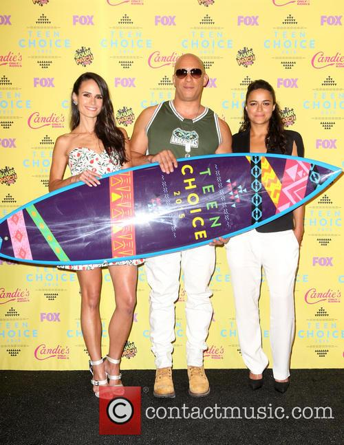 Jordana Brewster, Vin Diesel and Michelle Rodriguez 8