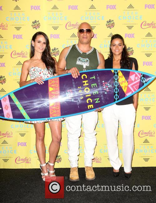 Jordana Brewster, Vin Diesel and Michelle Rodriguez 9