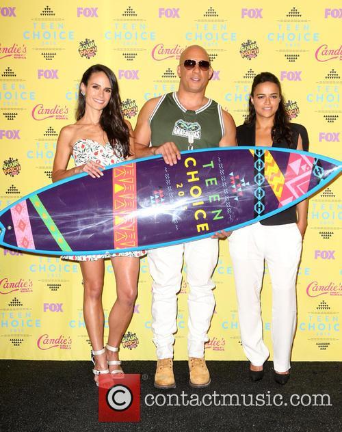 Jordana Brewster, Vin Diesel and Michelle Rodriguez 10