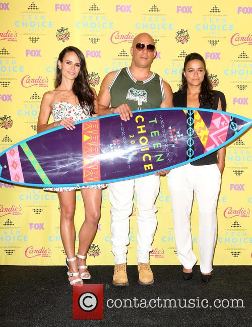 Jordana Brewster, Vin Diesel and Michelle Rodriguez 11