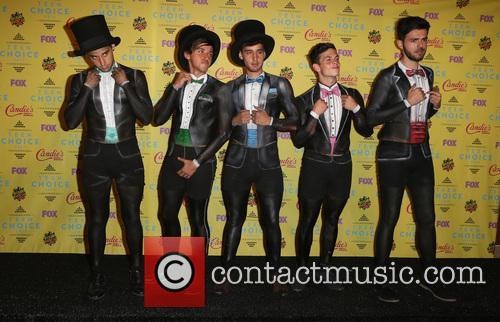 Teen Choice Awards, Jai Brooks, Beau Brooks, Luke Brooks, Daniel Sahyounie and James Yammouni 2