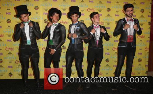 Teen Choice Awards, Jai Brooks, Beau Brooks, Luke Brooks, Daniel Sahyounie and James Yammouni 3
