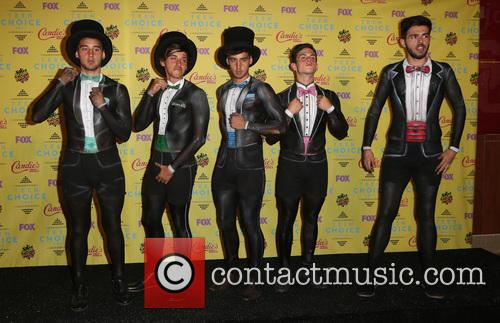 Teen Choice Awards, Jai Brooks, Beau Brooks, Luke Brooks, Daniel Sahyounie and James Yammouni 4