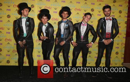Teen Choice Awards, Jai Brooks, Beau Brooks, Luke Brooks, Daniel Sahyounie and James Yammouni 1