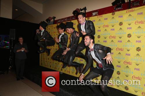 Teen Choice Awards, Jai Brooks, Beau Brooks, Luke Brooks, Daniel Sahyounie and James Yammouni 6