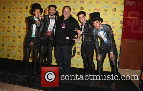 Teen Choice Awards, Jai Brooks, Beau Brooks, Luke Brooks, Daniel Sahyounie, James Yammouni and Steve Granitz 2