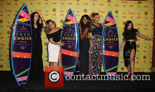 Teen Choice Awards, Lauren Jauregui, Ally Brooke Hernandez, Normani Kordei, Dinah Jane Hansen and Camila Cabello 2