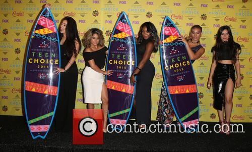 Teen Choice Awards, Lauren Jauregui, Ally Brooke Hernandez, Normani Kordei, Dinah Jane Hansen and Camila Cabello 3