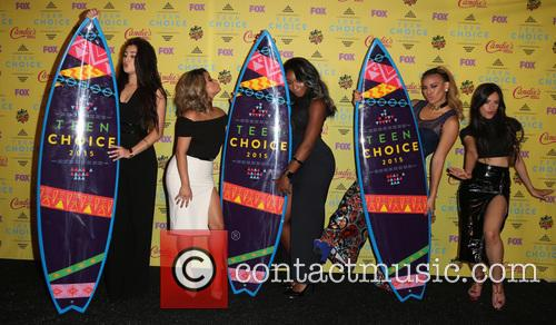 Teen Choice Awards, Lauren Jauregui, Ally Brooke Hernandez, Normani Kordei, Dinah Jane Hansen and Camila Cabello 4