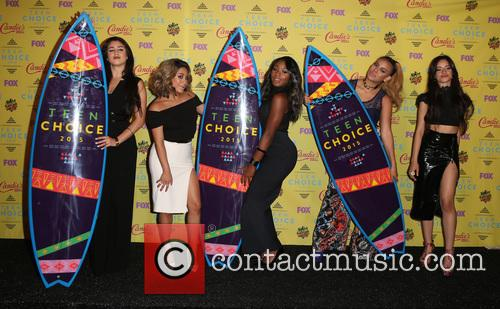 Teen Choice Awards, Lauren Jauregui, Ally Brooke Hernandez, Normani Kordei, Dinah Jane Hansen and Camila Cabello 5