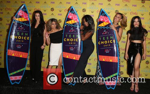 Teen Choice Awards, Lauren Jauregui, Ally Brooke Hernandez, Normani Kordei, Dinah Jane Hansen and Camila Cabello 6