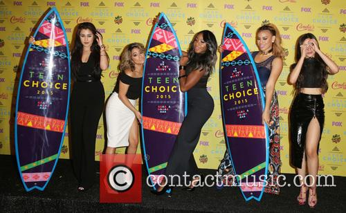 Teen Choice Awards, Lauren Jauregui, Ally Brooke Hernandez, Normani Kordei, Dinah Jane Hansen and Camila Cabello 7