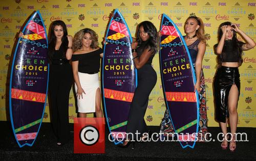 Teen Choice Awards, Lauren Jauregui, Ally Brooke Hernandez, Normani Kordei, Dinah Jane Hansen and Camila Cabello 8
