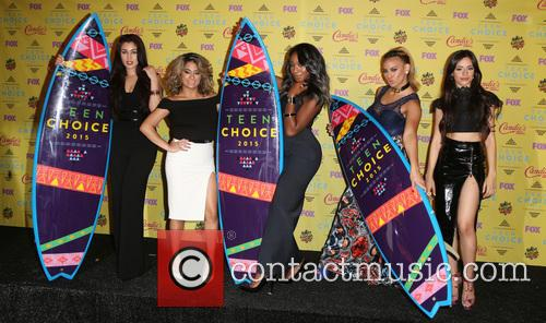 Teen Choice Awards, Lauren Jauregui, Ally Brooke Hernandez, Normani Kordei, Dinah Jane Hansen and Camila Cabello 9