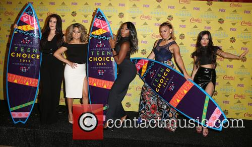 Teen Choice Awards, Lauren Jauregui, Ally Brooke Hernandez, Normani Kordei, Dinah Jane Hansen and Camila Cabello 10