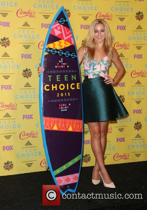Teen Choice Awards and Chloe Lukasiak 3