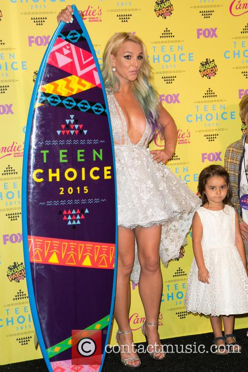Britney Spears and Maddie Briann Aldridge 2