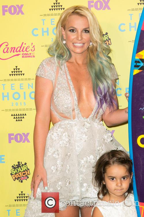 Britney Spears and Maddie Briann Aldridge 1