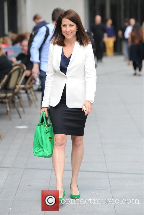 Liz Kendall seen out in London