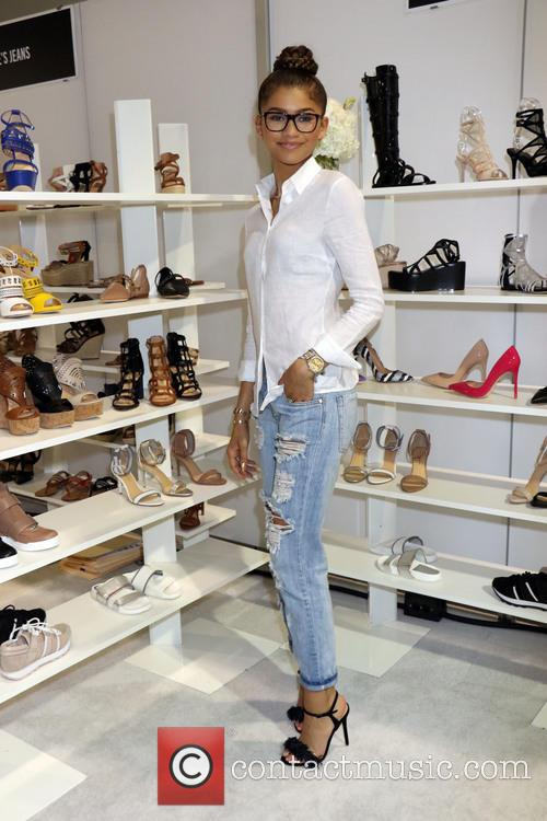 Zendaya debuts her brand new shoe collection 'Daya'