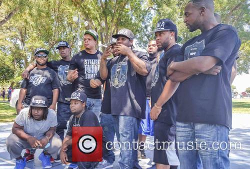 Curtis Young, Lil Eazy-e, Eric Wright, Jr., Baby Eazy-e and E3 4