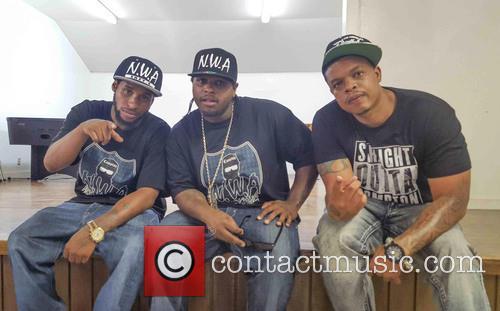 Curtis Young, Lil Eazy-e, Eric Wright, Jr., Baby Eazy-e and E3 1