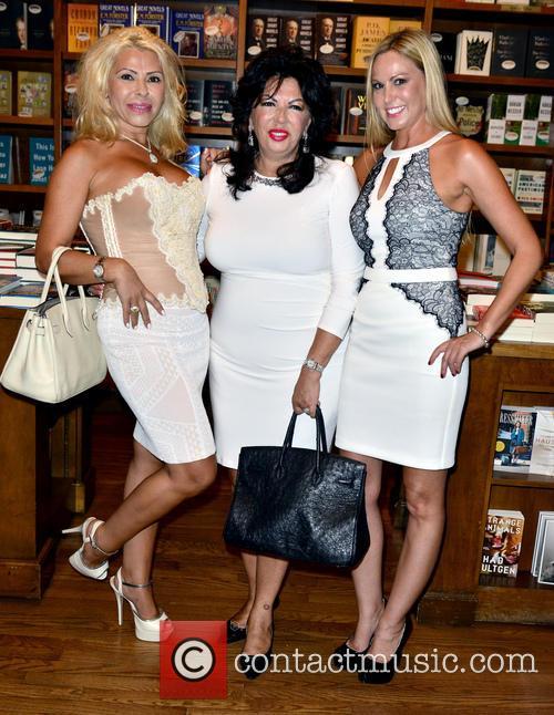 Baroness Anka Birgu, Author Dr. Carmen Harra and Ann Elizabeth Patrick 1