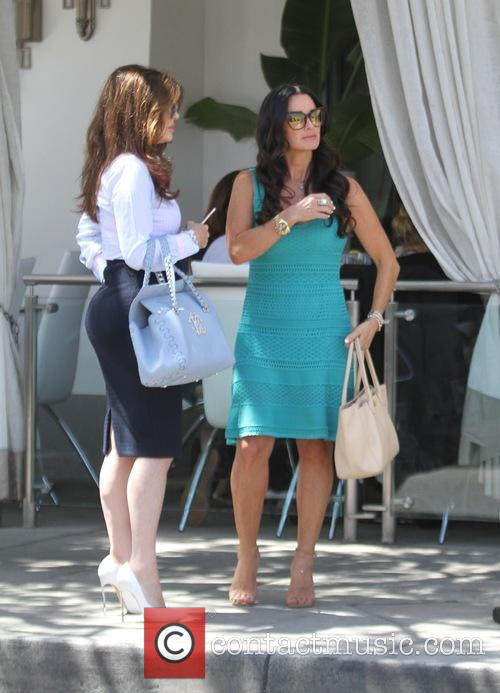 Kyle Richards and Lisa Vanderpump have lunch