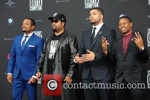 F. Gary Gray, Felix Gary Gray, Ice Cube, O Shea Jackson, O Shea Jackson Jr. and Jason Mitchell 2