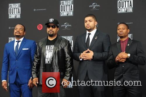 F. Gary Gray, Felix Gary Gray, Ice Cube, O Shea Jackson, O Shea Jackson Jr. and Jason Mitchell 1