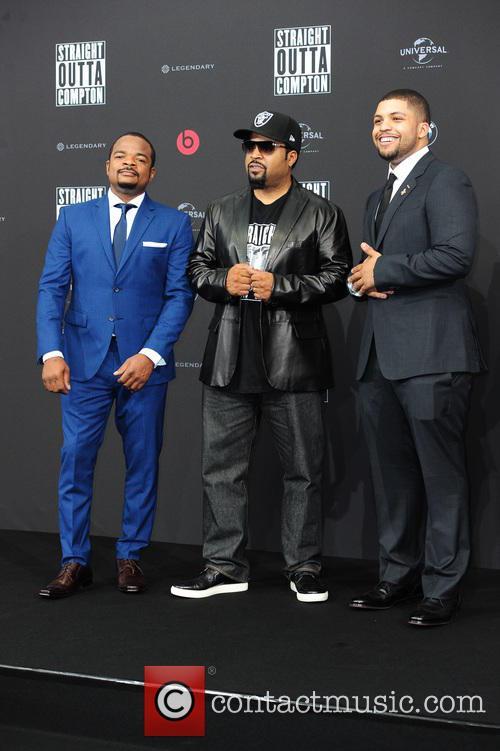 F. Gary Gray, Felix Gary Gray, Ice Cube, O Shea Jackson and O Shea Jackson Jr. 1