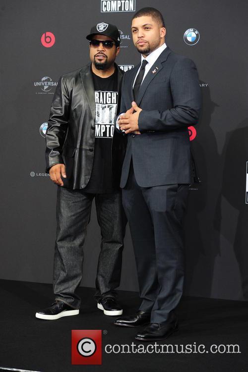 Ice Cube, O Shea Jackson and O Shea Jackson Jr. 2