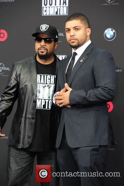 Ice Cube, O Shea Jackson and O Shea Jackson Jr. 3