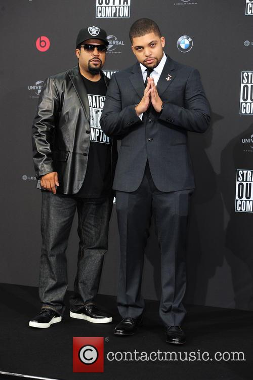 Ice Cube, O Shea Jackson and O Shea Jackson Jr. 4