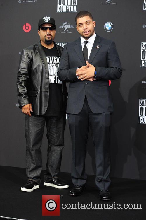 Ice Cube, O Shea Jackson and O Shea Jackson Jr. 5