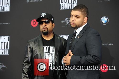 Ice Cube, O Shea Jackson and O Shea Jackson Jr. 1