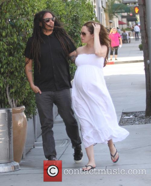 James Shaffer takes his pregnant wife to lunch