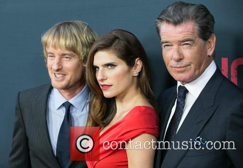 Owen Wilson, Lake Bell and Pierce Brosnan 2